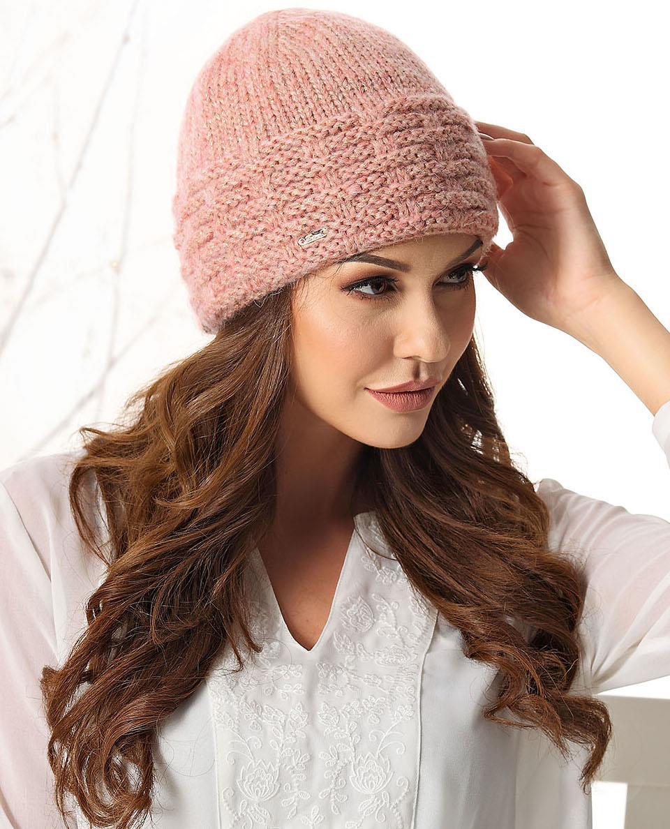 piękna czapka zimowa damska Roma
