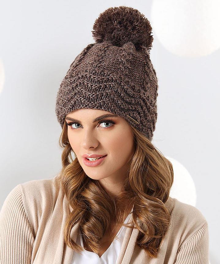 czapka zimowa damska Sara