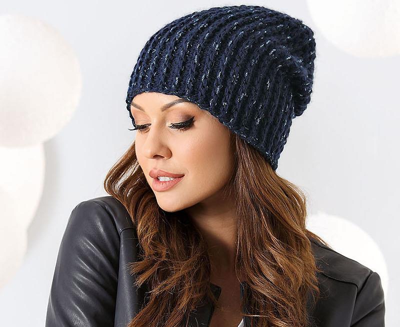 czapka zimowa damska Selena