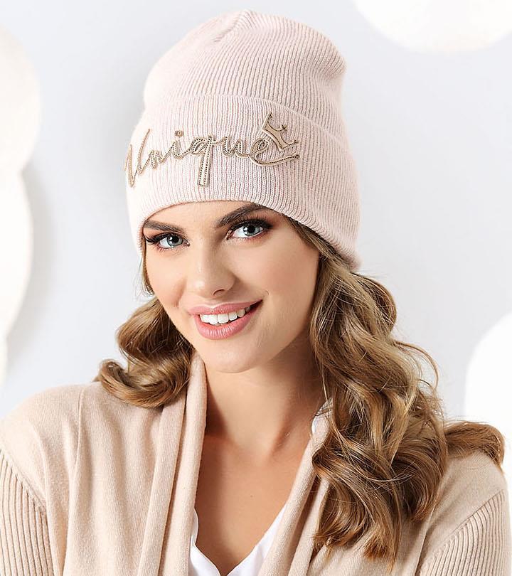 modna czapka damska Maja