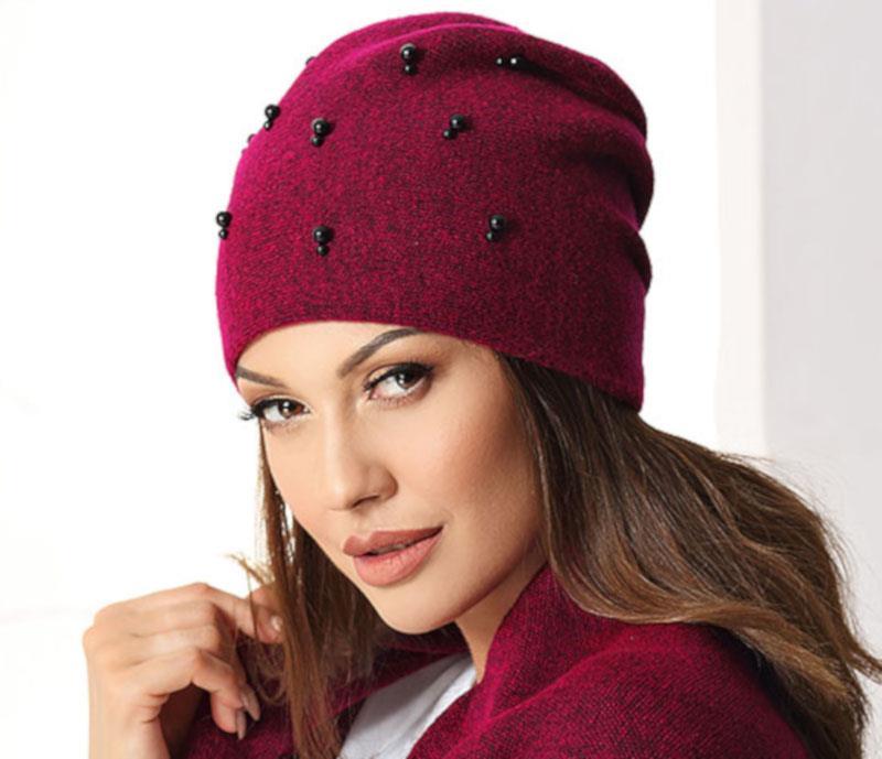 czapka zimowa damska Caroline