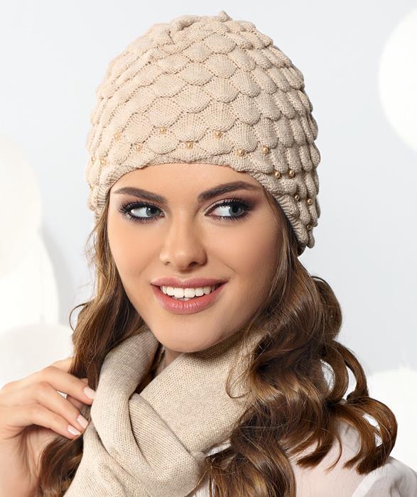 oryginalna czapka zimowa damska Jasmina
